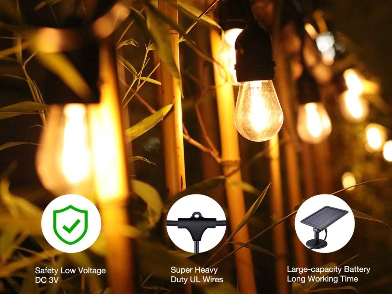 Best Solar String Lights For Garden
